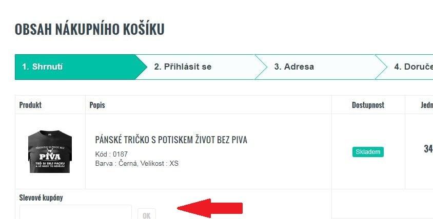 Obrázek portálu Bezvatriko.cz, kde můžete uplatnit slevy