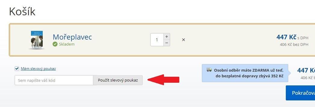 Obrázek portálu Knihy Dobrovský, kde můžete uplatnit slevy